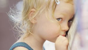 Focusing on the shyness can inadvertently make a child think something might be wrong with them. Photograph: iStockphoto