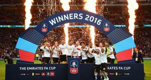 Manchester United are the current holders of the FA Cup. Photograph: Getty