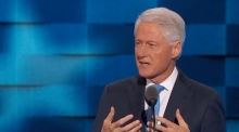 Bill Clinton tells story of how he met Hillary