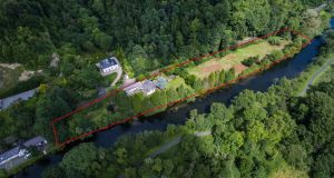The ultimate river cottage with 1km of frontage on the Liffey