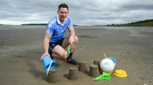 "Dublin  footballer Philly McMahon  at an AIG Insurance launch at Portmarnock beach. ""James is a massive player for us, both going forward and defensively.""  Photograph: Stephen McCarthy/Sportsfile"
