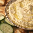 Hummus, made predominantly from chickpeas, also contains on average 280 calories per 100g – more than 10 per cent of the recommended daily intake for women, the Cash study found.