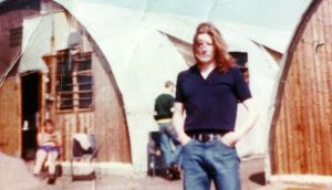 Bobby Sands, pictured in Long Kesh prison.