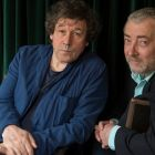 Stephen Rea and Neil Martin, who will stage Seamus Heaney's Aeneid: Book VI at the Kilkenny Arts Festival.  Photograph: Brenda Fitzsimons