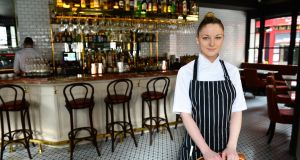 Chef Grainne O'Keefe, in Pichet restaurant where she is the senior sous chef. O'Keefe is one of a growing number of chefs who run pop-up restaurants once they've finished the 'day job'