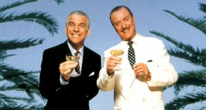 Steve Martin and Michael Caine are rival con artists scamming wealthy marks on the French Riviera in 'Dirty Rotten Scoundrels'. Their one-upmanship makes for one of cinema's great comic rivalries