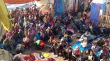 352 migrants mourn deaths on rescue vessel