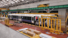 Time lapse: Building London's Crossrail carriages