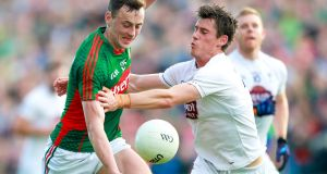 Diarmuid O'Connor: has been in outstanding form for Mayo this season – both at senior and U-21 level. Photograph: James Crombie/Inpho