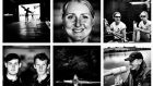 Scenes from the National Rowing Centre in Farran Wood, Cork . . . Sanita Puspure (top row, centre), Sinead Lynch and Claire Lambe (top row, right), brothers Paul and Gary O'Donovan (2nd row, left)and lead coach Don McLachlan (second row, right). Photographs: Bryan O'Brien/The Irish Times