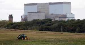 The site in southwest England where the Hinkley Point nuclear power station is due to be built. Photograph: Suzanne Plunkett/Reuters