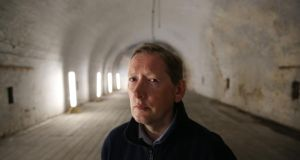 Fergus McCormick, conservation architect with the OPW, inside the Magazine Fort in the Phoenix Park, which will be open for limited public guided tours from this Sunday. Photograph: Fran Veale