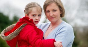 Vera Twomey-Barry from Aghabullogue, Co Cork, with her daughter Ava who suffers from Dravet's Syndrome. Photograph: Daragh McSweeney/Provision