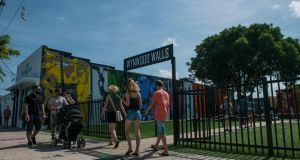 Wynwood arts district of Miami: Florida health authorities have identified 10 new cases of Zika infection transmitted by local mosquitoes. Photograph: Max Reed/The New York Times