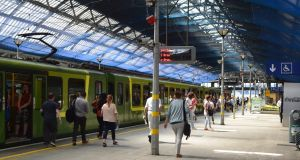 Pearse Station: Dublin's  busiest commuter station attracts some 25,000 passengers most days