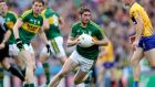 Kerry's Killian Young in action against Clare during last Sunday's quarter-final. Photograph: Ryan Byrne/Inpho