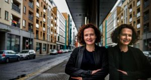 Gallery owner Oonagh Young will work with Dublin City Council on the Tree Line Project  on James Joyce Street. Photograph: Dara Mac Dónaill / The Irish Times