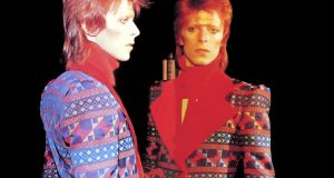 Immediacy: Bowie as Aladdin Sane. Photograph: Sukita;  courtesy of the David Bowie archive/V&A