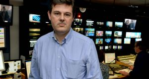 Kevin Bakhurst, RTÉ's departing deputy director-general, pictured in RTÉ's television centre in January 2013. Photograph: David Sleator/The Irish Times.