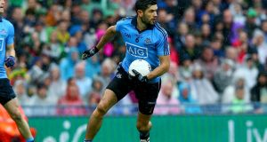 Dublin's Cian O'Sullivan is comfortable sweeping and marking at centre back. Photograph: Donall Farmer/Inpho