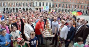 Yes vote anniversary: As images of jubilant adults cheering in Dublin Castle spread across the world, how did it feel for a young person sitting alone in their bedroom, still terrified of having to face coming out? Photograph: Eric Luke