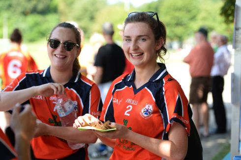 Karen Maguire from Tipperary  and Cait Lynch  from Castleisland both playing for the  Dutch team Hollux.