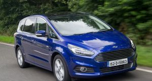 Ford's S-Max also comes in 'Shadow' black and 'Frozen' white