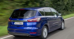 Ford's S-Max in 'Deep Impact' metallic blue