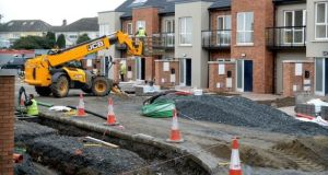 While the fee for a one-off house is €65, and €34 for an extension, fees for larger residential and commercial developments increase in line with the size of the development. Photograph: The Irish Times