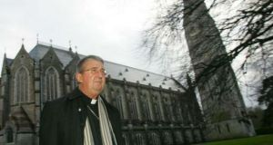 Archbishop of Dublin Diarmuid Martin at Maynooth seminary