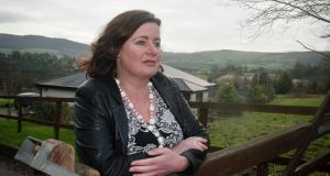 Jillian Godsil at her rented home, Tinahely, Co Wicklow. Photograph: Garry O'Neill