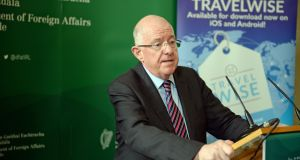 'I don't think you can have a workable forum unless everybody is prepared to sit around the table and participate.' Minister for Foreign Affairs Charlie Flanagan said.  Photograph: Eric Luke / The Irish Times