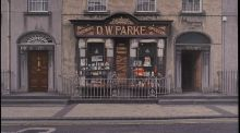 'Prescriptions Accurately Prepared', by John Doherty, shows the front of D.W. Parke – chemist and optician – at Gladstone Street in Clonmel, Co Tipperary