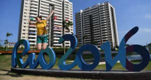 Australia's Carry McMahon pictured in the athletes village. Photograph: Pascal Le Segretain/Getty Images