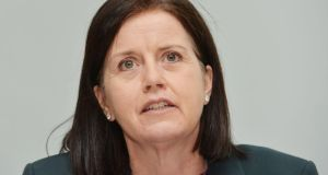 FBD group chief executive Fiona Muldoon is targeting a return to profitability for the insurer by year end. Photograph: Alan Betson