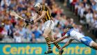 Kilkenny's TJ Reid scores his side's goal against Waterford during last year's All-Ireland semi-final at Croke Park. Photograph: James Crombie/Inpho