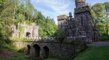 Ireland's  Ancient East: The elaborate bridge at Ballysaggartmore