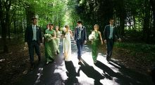 Our wedding story: A forest walk with a cheese 'cake'