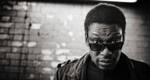 "Roots Manuva: ""I never really thought I would get past the Watford Gap."" Photograph: Shamil Tanna"