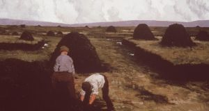 The Bog Workers by Paul Henry