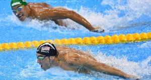 Even Michael Phelps was astonished at his own brilliance