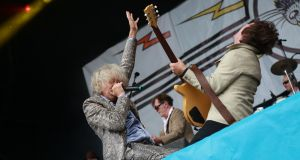 Bob Geldof and the band at last year's Electric Picnic festival. Photograph: Debbie Hickey/Getty