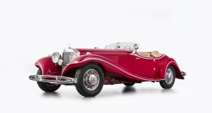Only 29 models of the Mercedes-Benz 500K Special Roadster, arguably the world's most beautiful car were made and this one has survived against the odds.