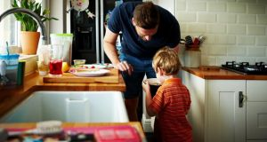 While the number of Irish parents staying at home has shrunk significantly over the past few  decades, the proportion of fathers opting to do so has risen substantially.