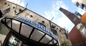 The Old Jameson Distillery visitor centre attracts 600,000 tourists a year