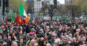 An event marking the centenary of the 1916 Rising. File photograph: Nick Bradshaw