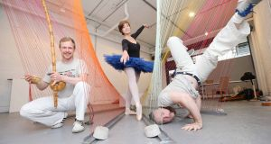 Culture Night 2016  launched its programme at the ArtBox Gallery as  ballerina Lisa Tighe, and  Brazilian Capoeira dancers, Frances Matthew and Larry Connolly performed.  Photograph: Sasko Lazarov/Photocall Ireland