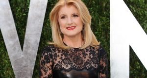 "Arianna Huffington, who founded the Huffington Post in 2005: ""There is only one way to do it – with your full attention and all your heart,"" she said. Photograph: AP"