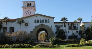 Preservation laws have protected much of the original architecture from Santa Barbara's 18th-century Spanish mission roots