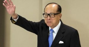 Hong Kong's richest man Li Ka-shing said UK's withdrawal from the EU will bring considerable challenges for at least two to three years. Photograph: Reuters